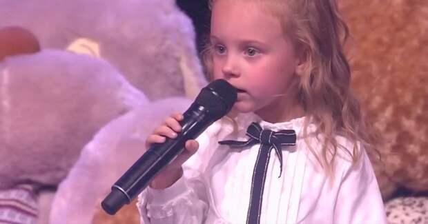 Трехлетняя участница «Лучше всех!» споет на «Первом» в Новый год
