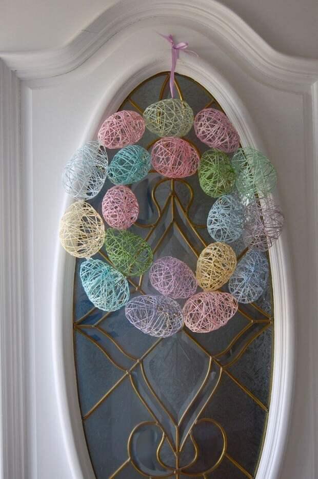 пасхальный декор дом к пасхе