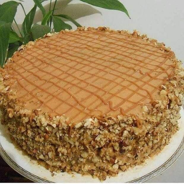 Рецепт очень вкусного тортика, который прост в приготовлении