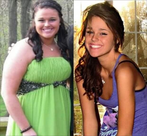 Неверояное преображение - похудение до и после