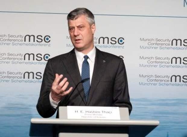 Президент Косово наградил Трампа за соглашение с Сербией