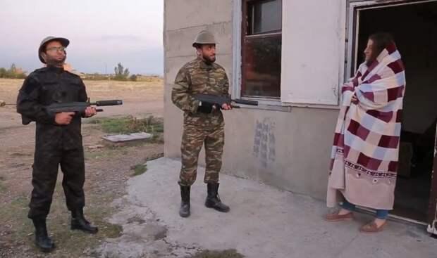 """""""Мы азербайджанские солдаты"""""""