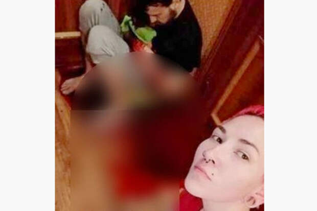 Женщина ударила ножом мужа и сделала селфи