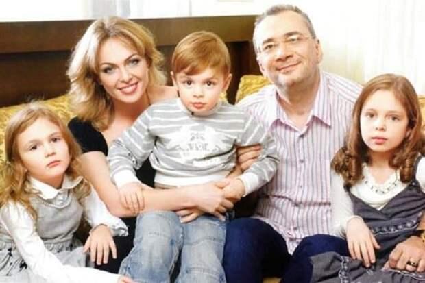 константин меладзе с бывшей женой и детьми