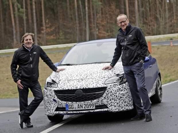 В Opel заинтриговали новой Corsa OPC