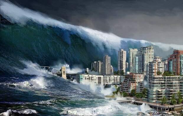 Существующий проект академика Сахарова. Направить на США 300 метровое цунами.