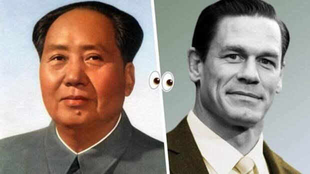 Джон Сина теперь Джон Цзэдун. Мемные видео превратили рестлера в главу КНР и грозу простых китайцев