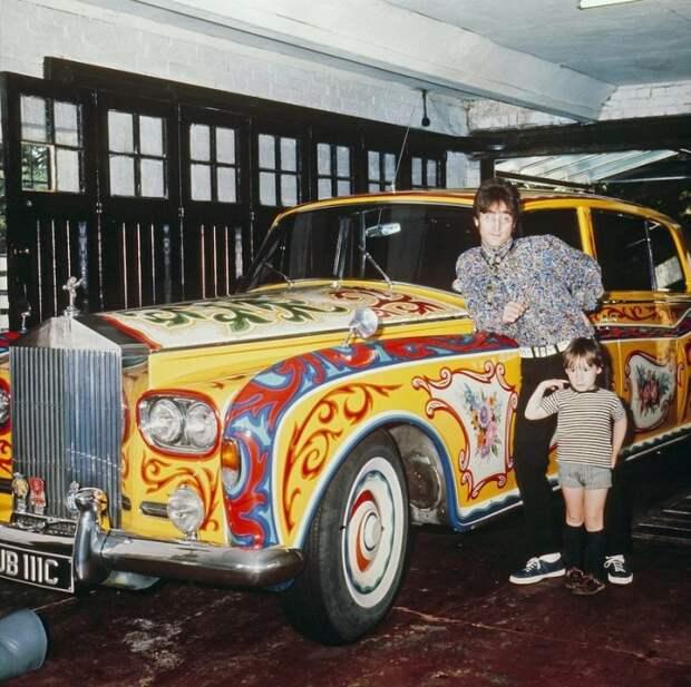 Персональный Rolls-Royce Джона Леннона.   Фото: popmech.ru.