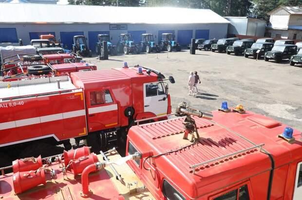 Новые лесопожарные станции появятся вНижегородской области в2021 году