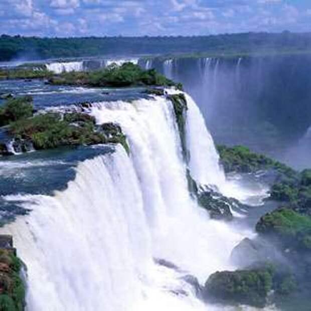 Водопад Бразилии