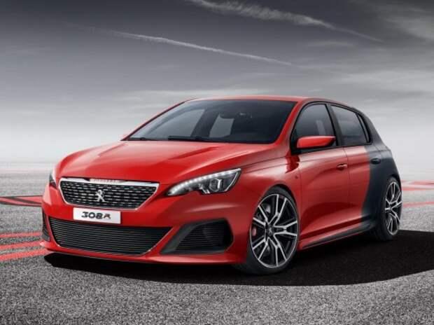 Peugeot покажет на Московском автосалоне новый 308 R