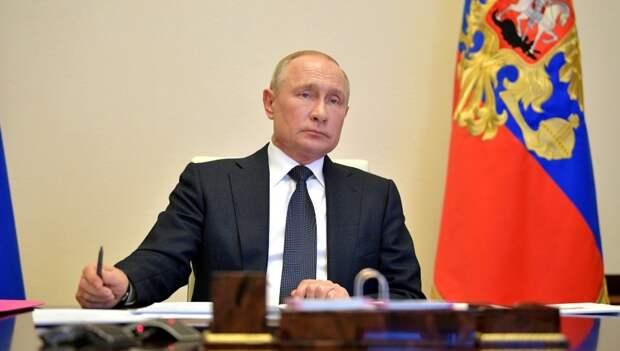 Путин продлил режим самоизоляции на майские праздники