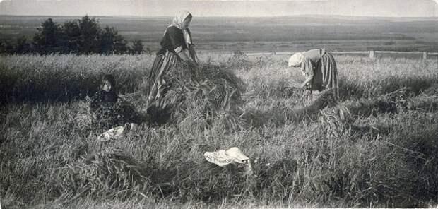 Русская деревня начала XX века на старых фотографиях.