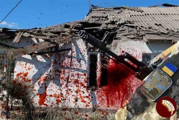 Снова льётся кровь мирных жителей Донбасса