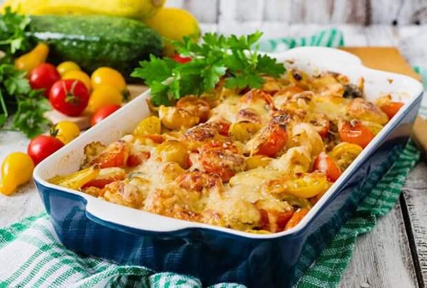7 рецептов овощных запеканок