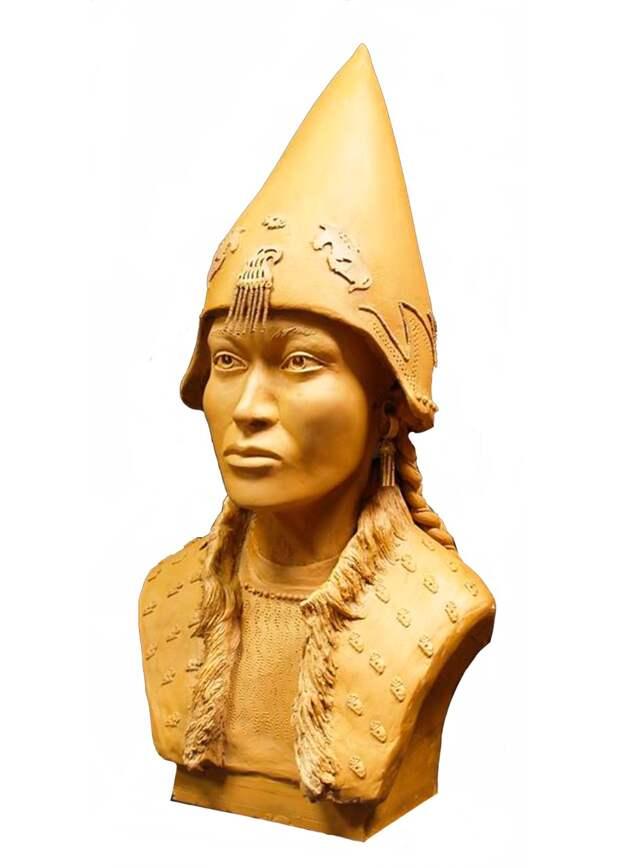 Ученые реконструировали облик скифских «царя» и «царицы»