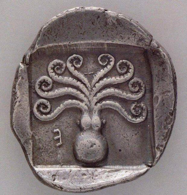 Греч. монета, 500-480 до н.э.