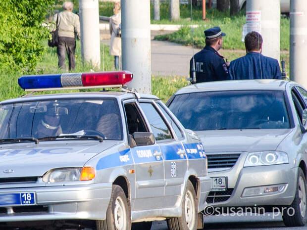 Автолюбителей в Ижевске массово проверят на трезвость