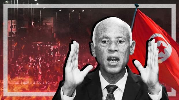 """Взрыв назревал: приведут ли протесты в Тунисе к новой """"арабской весне"""""""