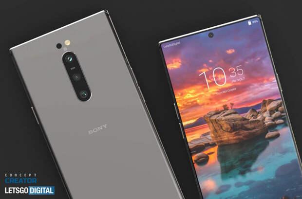 5G-смартфон Sony Xperia 5 II красуется на рендерах