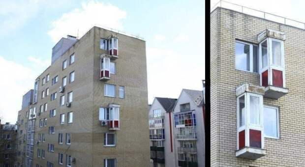 """Балконы """"на одного"""""""