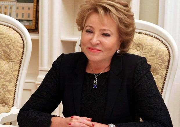 Валентина Матвиенко назвала основные темы на осеннюю сессию
