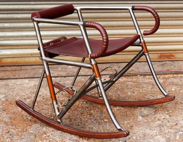 Велосипедные рамы - в дело (подборка)