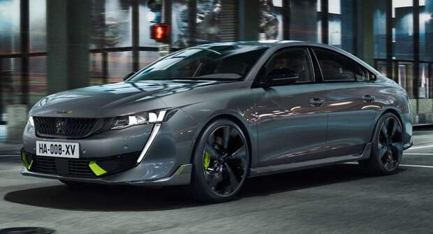 Peugeot 508 PSE признали мощнейшим дорожным авто бренда