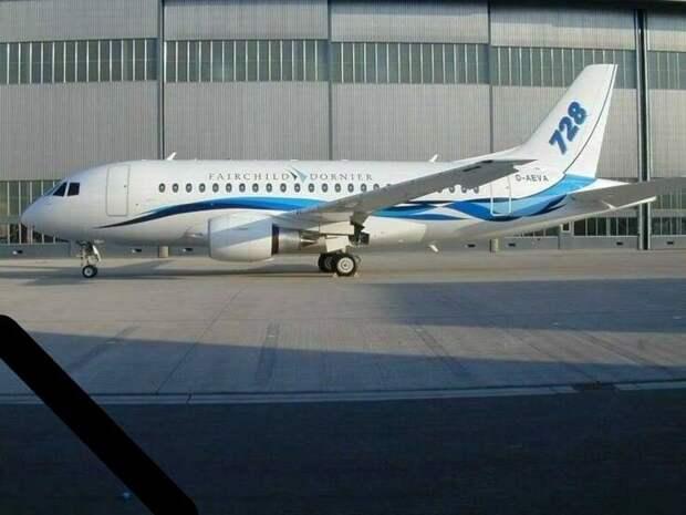 Fairchild Dornier 728 Jet. Источник: jettodesigns.co.uk