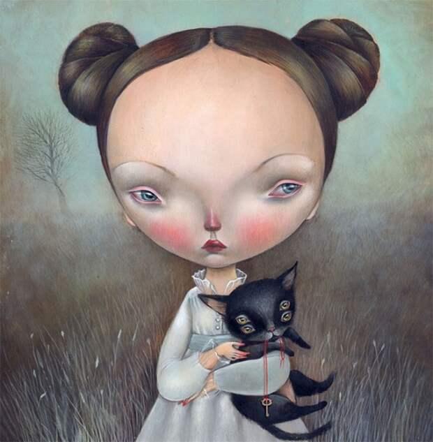 Загадочные иллюстрации Dilka Bear