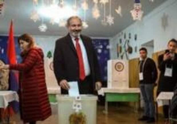 Блок Пашиняна выиграл выборы в Армении