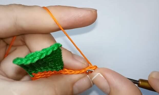 Простой способ связать плед крючком, используя в работе всего лишь 7 петель