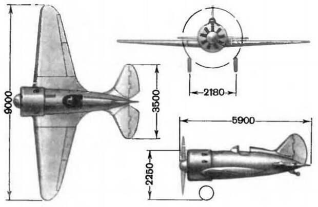 Истребитель И-16 — короткая и блистательная история самолета