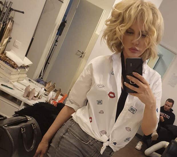 Маша Малиновская не стала надевать юбку перед зеркалом и вызвала слухи
