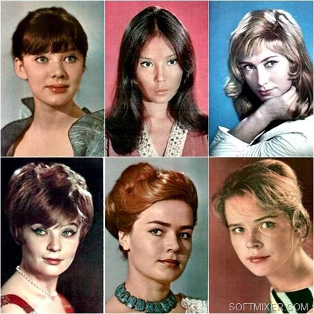 Советские актрисы. Серия открыток 60-70х годов