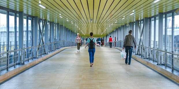 Около станций Красный Балтиец и Гражданская МЦД-2 появятся пешеходные переходы