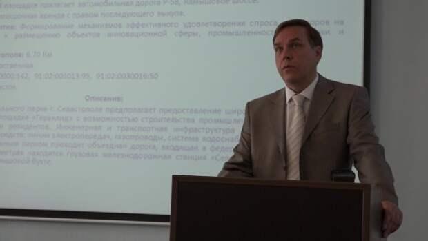 Первый брифинг Корпорации развития Севастополя без Николаева