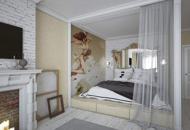 Дизайнер советует, как зонировать пространство с помощью штор