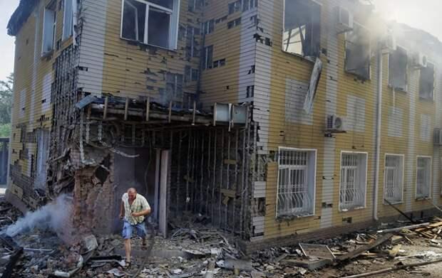В Киеве списали обстрел школ и детских садов Донецка на «провокации»