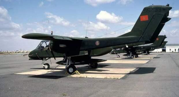 Служба и боевое применение турбовинтовых штурмовиков OV-10 Bronco после окончания вьетнамской войны