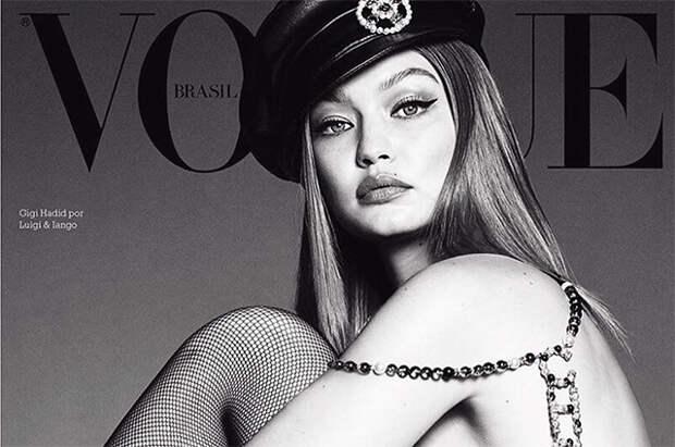 Джиджи Хадид снялась топлес для обложки бразильского Vogue и призвала бороться с лесными пожарами