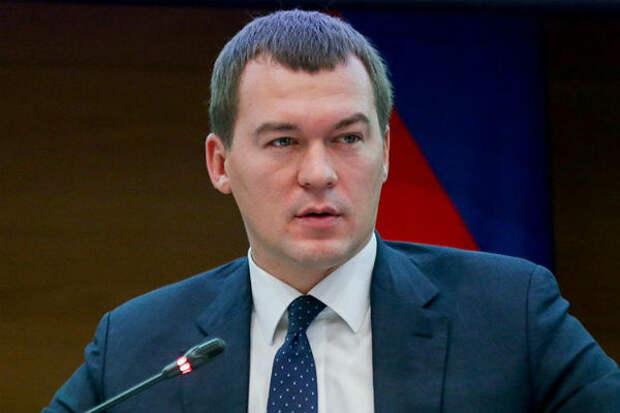 Путин уволил Фургала и назначил врио главы Хабаровского края