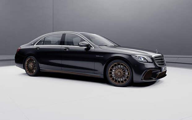 Mercedes-AMG простится с двигателем V12 спецсерией S-класса