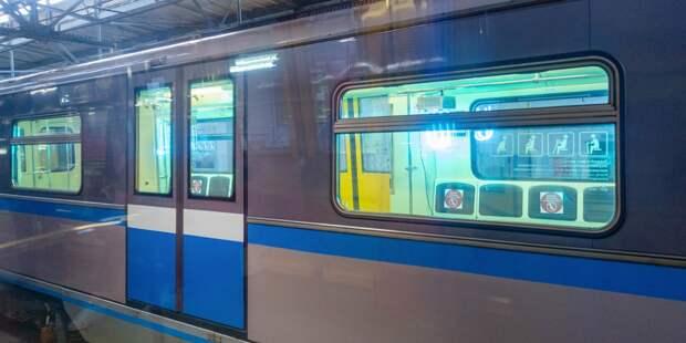 Для слабовидящих и слепых пассажиров установили маяки на станции метро «Бабушкинская»