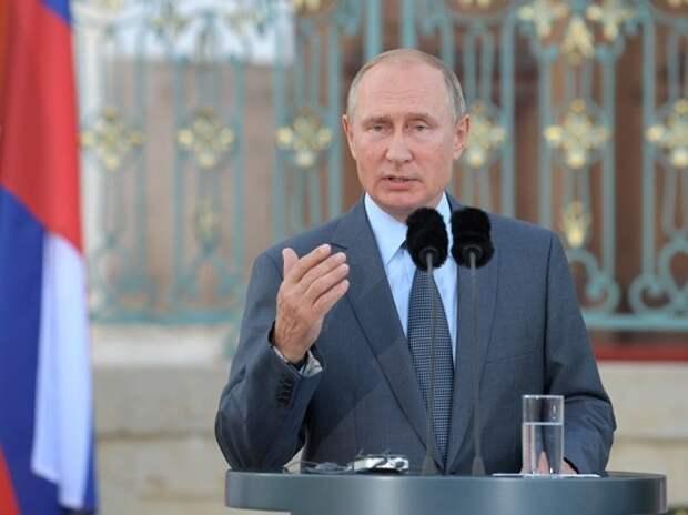Реакция Путина на новые санкции США