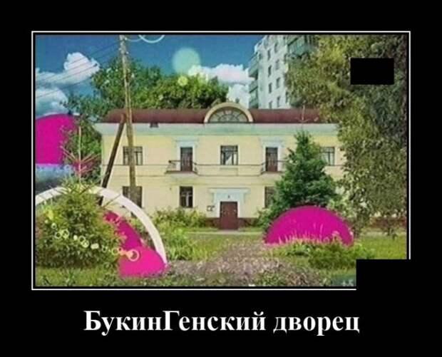 Демотиватор про Букиных