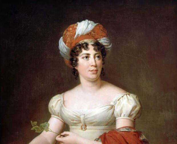 Анна де Сталь значилась в списке внутренних политических проблем императора Франции.