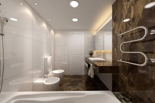 Освещение в ванной комнате: фото, возможные варианты (65 фото)