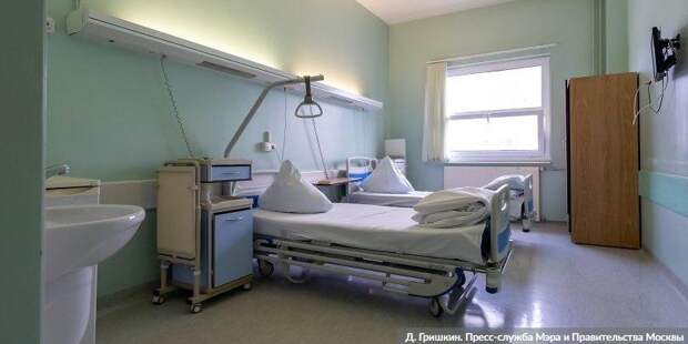 В Москве за сутки госпитализированы 1 тыс 49 пациентов с COVID-19
