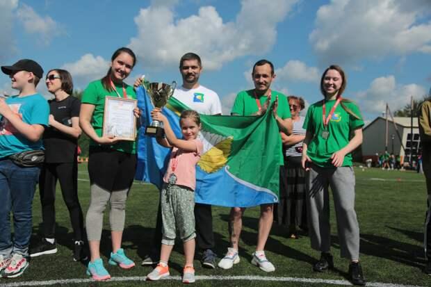 В День физкультурника команда Марфина заняла второе место по легкой атлетике